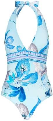 Gottex Paradise Halterneck Swimsuit