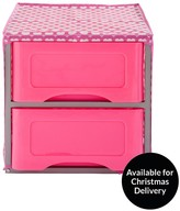 Ideal Kids 2 Drawer Storage Unit