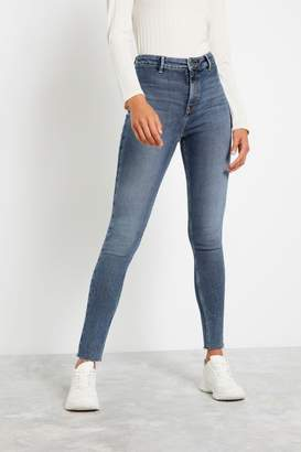 F&F Womens Mid Wash Authentic Jeans - Blue