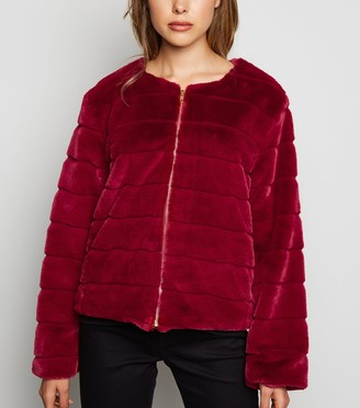 New Look Mela Faux Fur Jacket