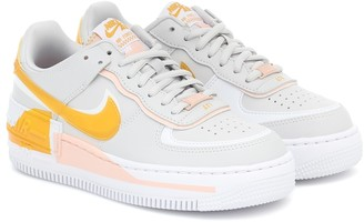 Nike Air Force 1 Shadow SE leather sneakers