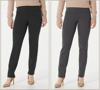 Women With Control Renee's Reversibles Tall Slim Leg Pants