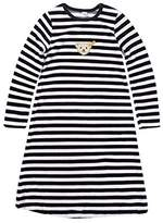 Steiff Girls 0006578 Nightdress 1/1 Striped Long Sleeve Top,(Manufacturer Size:104)