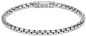 John Hardy Sterling Silver Classic Chain Box Chain Bracelet