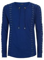 Balmain Lace Up Jumper