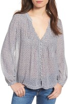 AG Jeans Women's Sia Pintuck Blouse