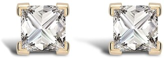 Pragnell 18kt yellow gold RockChic diamond solitaire earrings