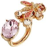 Oscar de la Renta Crystal Bee Ring