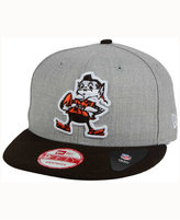 New Era Cleveland Browns Heather 2 Tone 9FIFTY Snapback Cap