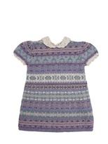 Ralph Lauren Knitted Cotton And Crochet Dress