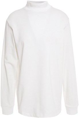 Theory Cotton-jersey Turtleneck Top