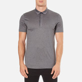 Hugo Dellos Cotton Polo Shirt Grey