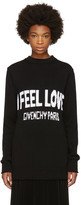 Givenchy Black i Feel Love Sweater