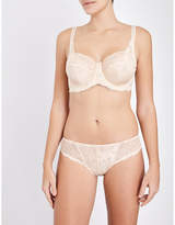 Panache Clara stretch-lace and mesh full-cup bra