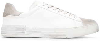 Hogan Contrast Panel Low-Top Sneakers