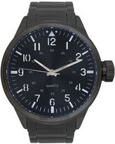 Rocawear Men's Gunmetal Blue Dial Bracelet Watch Rm0101Bk1-426