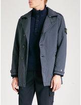 Stone Island David canvas trench coat