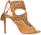 Aquazzura 'Sexy Thing' sandals - women - Leather/Suede - 37