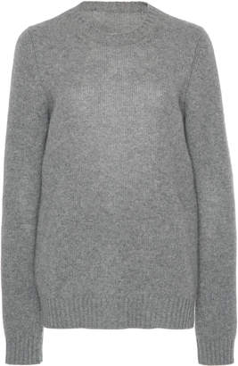 Prada Cutout Rib-Knit Sweater