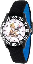 Marvel Guardian Of The Galaxy Boys Black Strap Watch-Wma000124