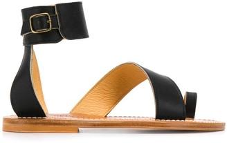K. Jacques Toe Strap Sandals