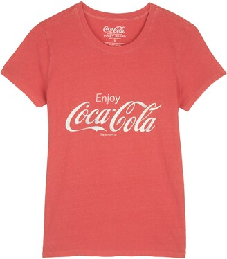 Lucky Brand Coca-Cola(R) Graphic Tee