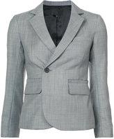 Nili Lotan off centre single button blazer