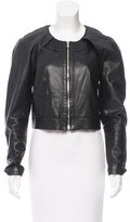Proenza Schouler Cutout Leather Jacket