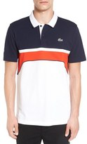 Lacoste 'Superlight' Chest Stripe Polo