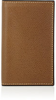Valextra Women's Folding Card Case-BROWN