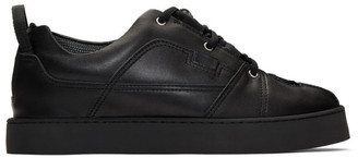 Doublet Black Sneakers Layered Dress Derbys