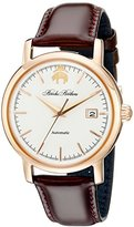 Brooks Brothers Men's SILGA008 Core Collection - Round Analog Display Automatic Self Wind Brown Watch
