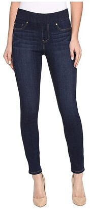 Liverpool Sienna Pull-On Ankle in Silky Soft Denim in Griffith Super Dark (Griffith Super Dark) Women's Jeans