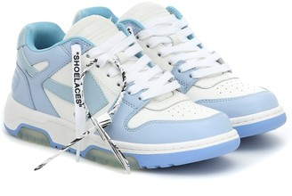 Off-White OOO Out of Office leather sneakers