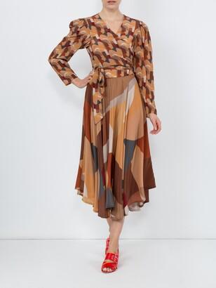 Riviera LHD bonifacio abstract french skirt