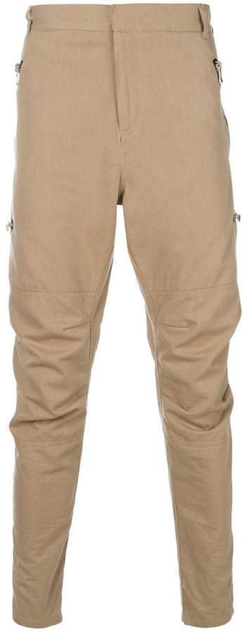 Balmain tapered trousers
