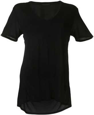 Helmut Lang slash back jersey T-shirt