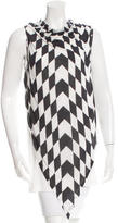 Gareth Pugh Printed Sleeveless Top w/ Tags