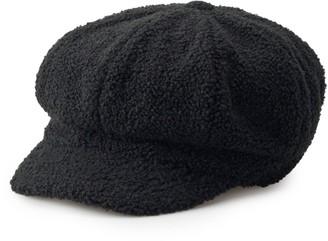 Apt. 9 Women's Sherpa Newsboy Hat