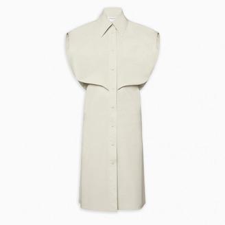 Bottega Veneta White shirt dress