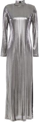 Bella Freud Lame Maxi Dress