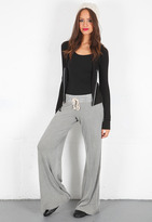 Singer22 R & R Surplus Thermal Drawstring Pant in Silver