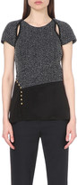 3.1 Phillip Lim Cut-out cotton-blend top