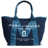 Marc Jacobs New Logo Denim Tote - Blue