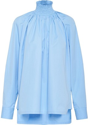 Prada Stand-Up Collar Shirt