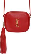 Saint Laurent Monogram Blogger Leather Bag