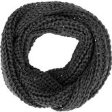 Simplicity Large-Weave Infinity Scarf in Lightly Sequined Yarn
