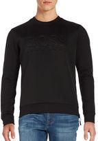 HUGO BOSS Salbon Mesh Logo Sweatshirt