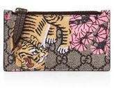 Gucci Bengal Card Case Top zip pocket