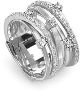 Marco Bicego Goa 18K White Gold and Diamond Ring, 0.4 ct.